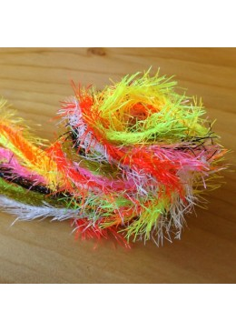Neon hackle FLYBOX